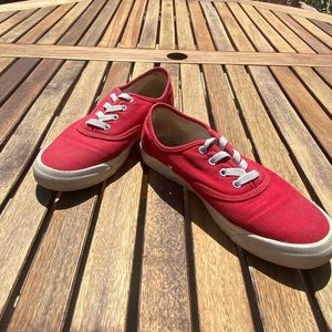 Red pro keds